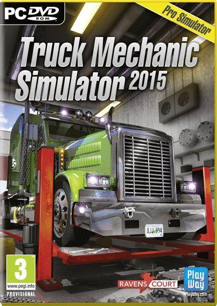 Truck Mechanic Simulator 2015 Pc Game Free Download Full Version Download Pc Game Truck Mechanic Trucks Mechanic