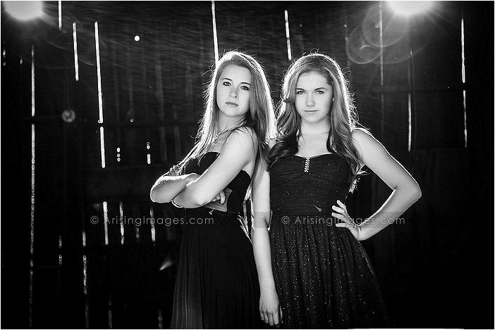 Gorgeous shot of these best friends at Rock The Dress 2013. #fashion #fun #seniorpics #friends
