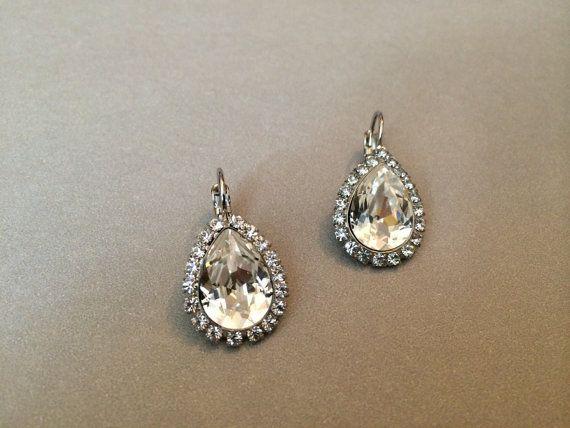 Clear Diamond Swarovski Crystal with by EmpyreanByDamaris on Etsy