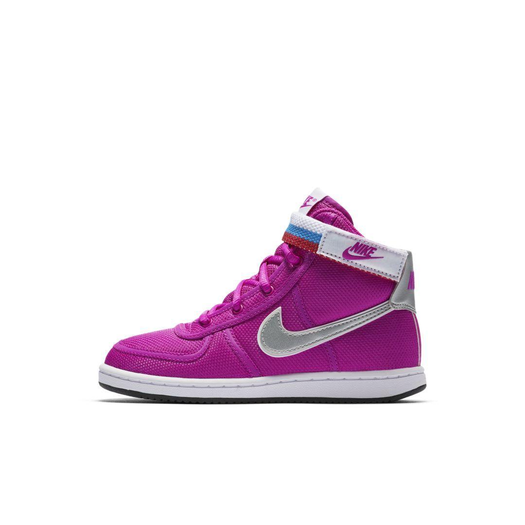 new products b144d d36bf Nike Vandal High Supreme Little Kids  Shoe Size 12.5C (Fuchsia Blast)