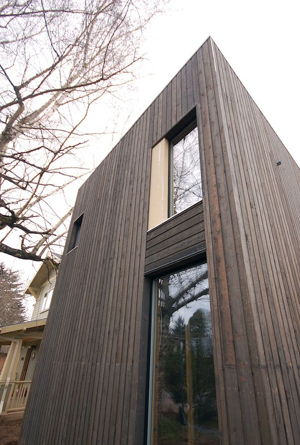 Stained Cedar Siding Wood Cladding Cedar Cladding