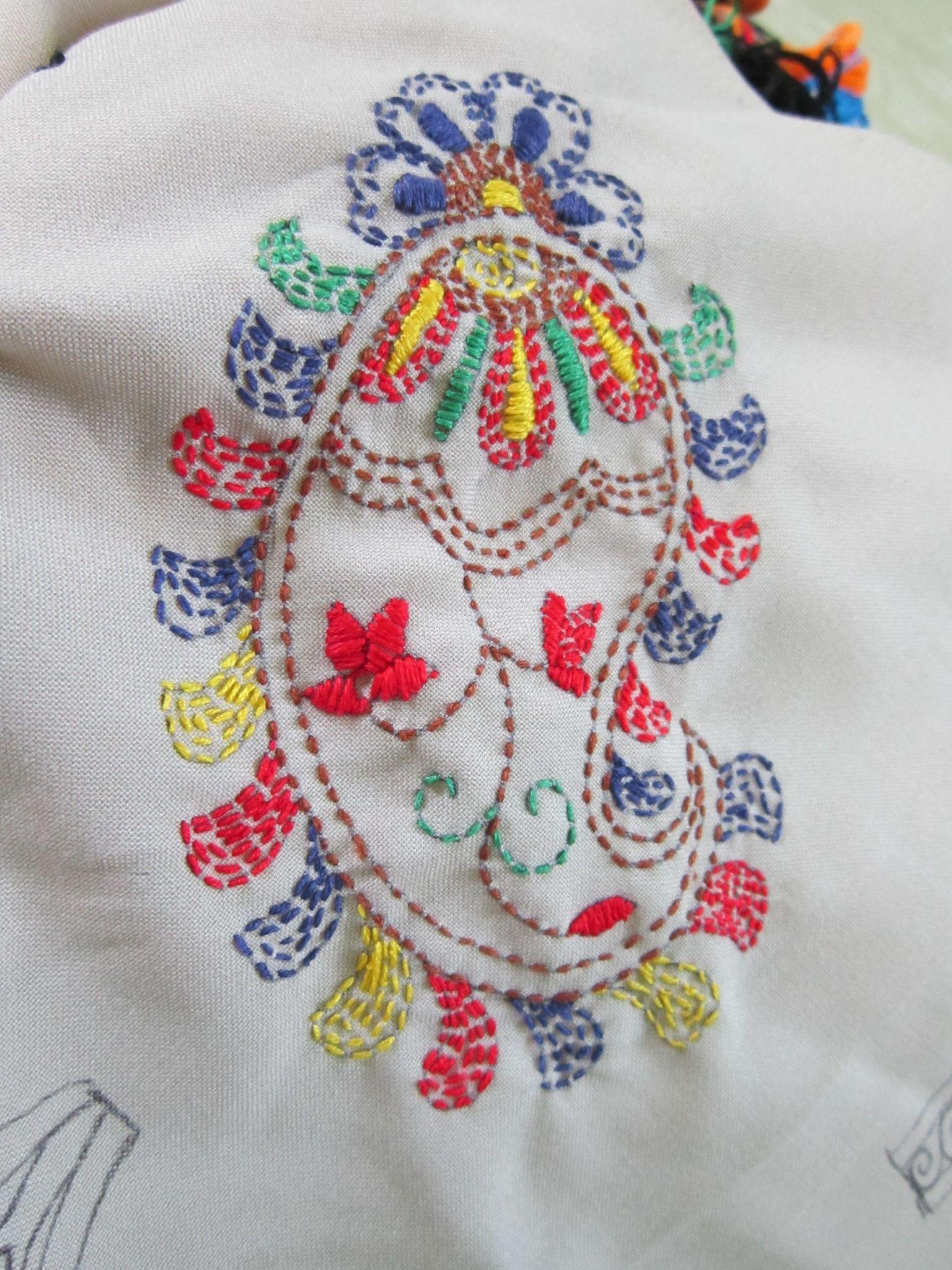 Kantha Stitch Sample Embroidery Pinterest Embroidery