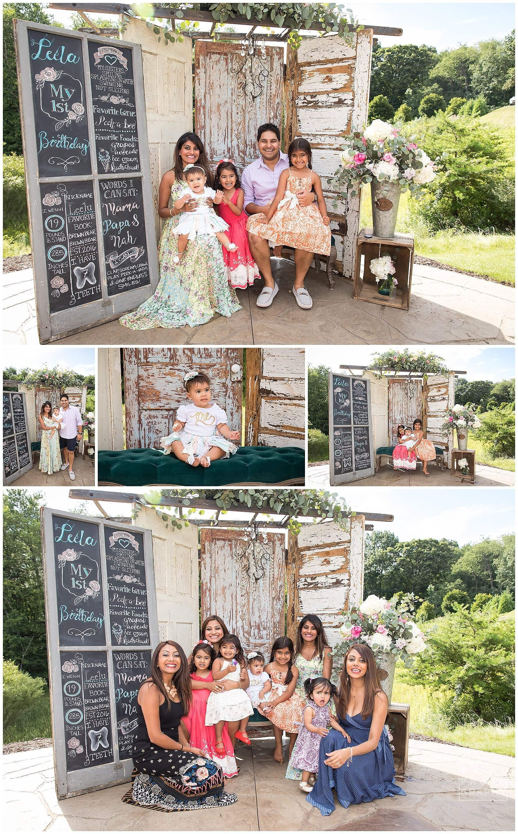 Leela S 1st Birthday Pittsburgh Baby Photographer Shabby Chic Summer Backyard Party Summer Backyard Parties Backyard Party Photographing Babies