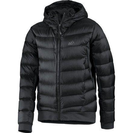 Adidas OUTDOOR Hiking Hybrid Down Jacket Men's Black
