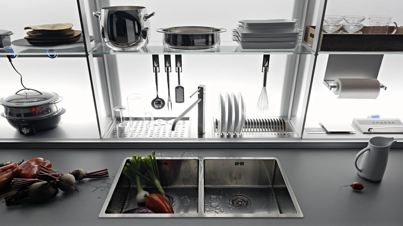 valcucine: new logica system | Kitchens, Kitchen cabinetry and Interiors
