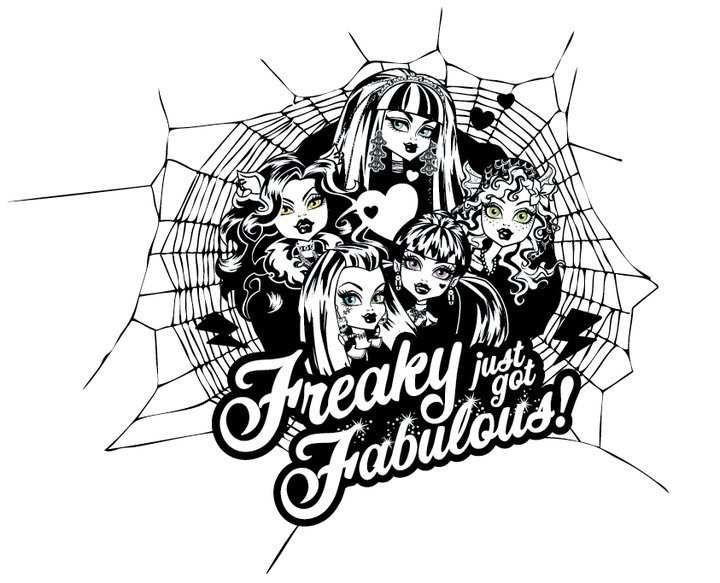 Monster High ausmalbilder kostenlos | Monster High | Pinterest ...