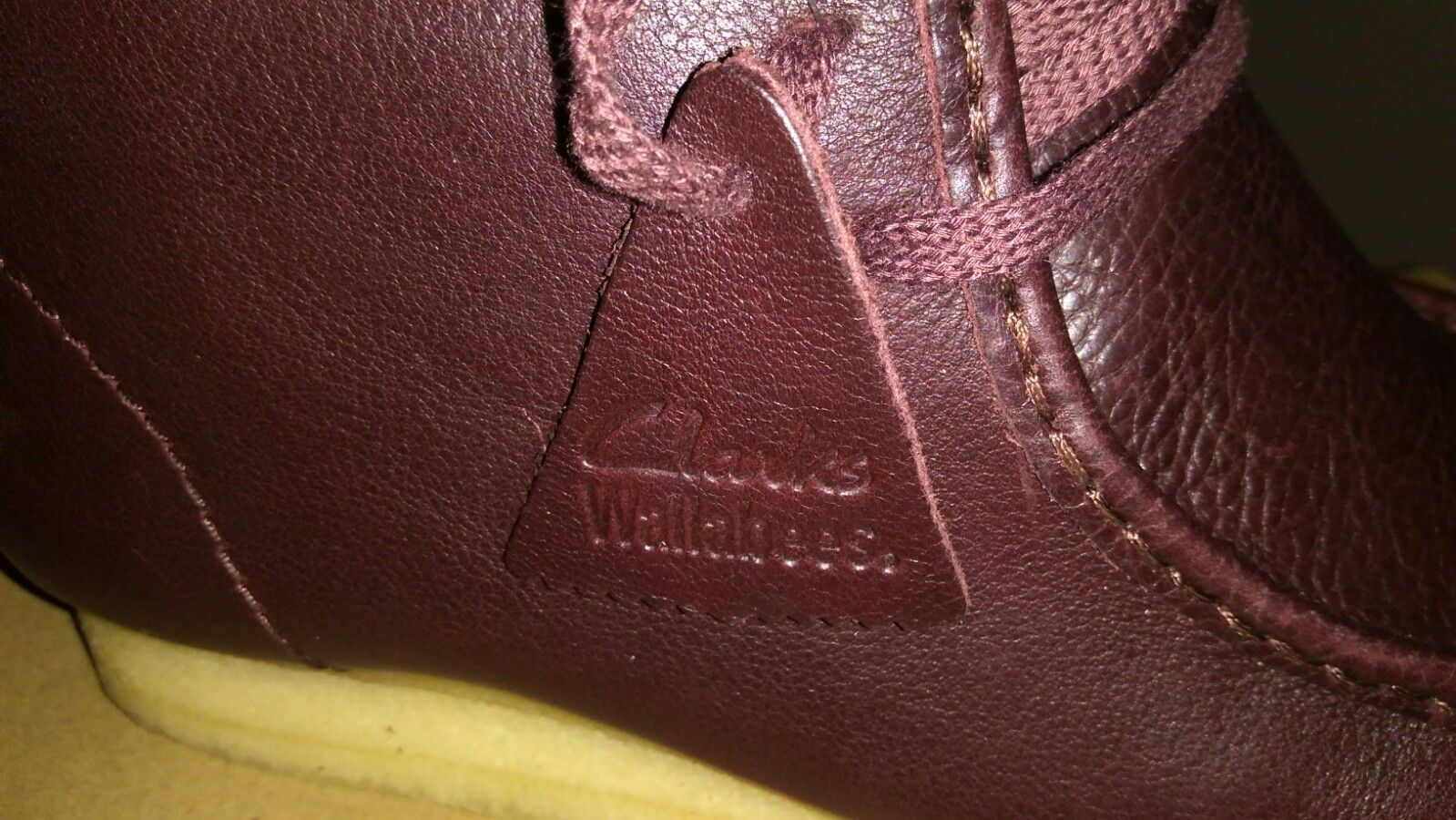 #ClarksUSA #limitededition in #BurgundyWallabee #tumbledleather -