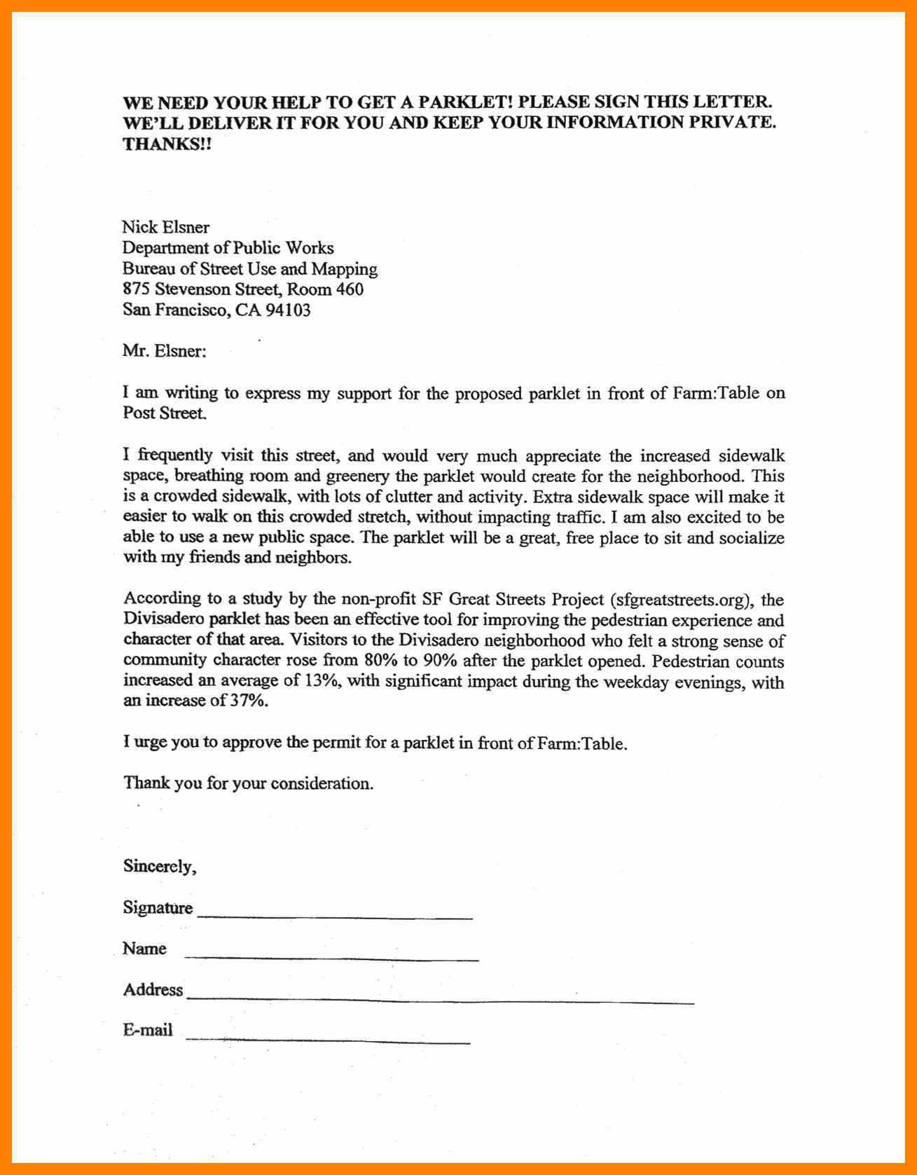 Valid Petition Letter Sample Letter Sample Lettering Miss You