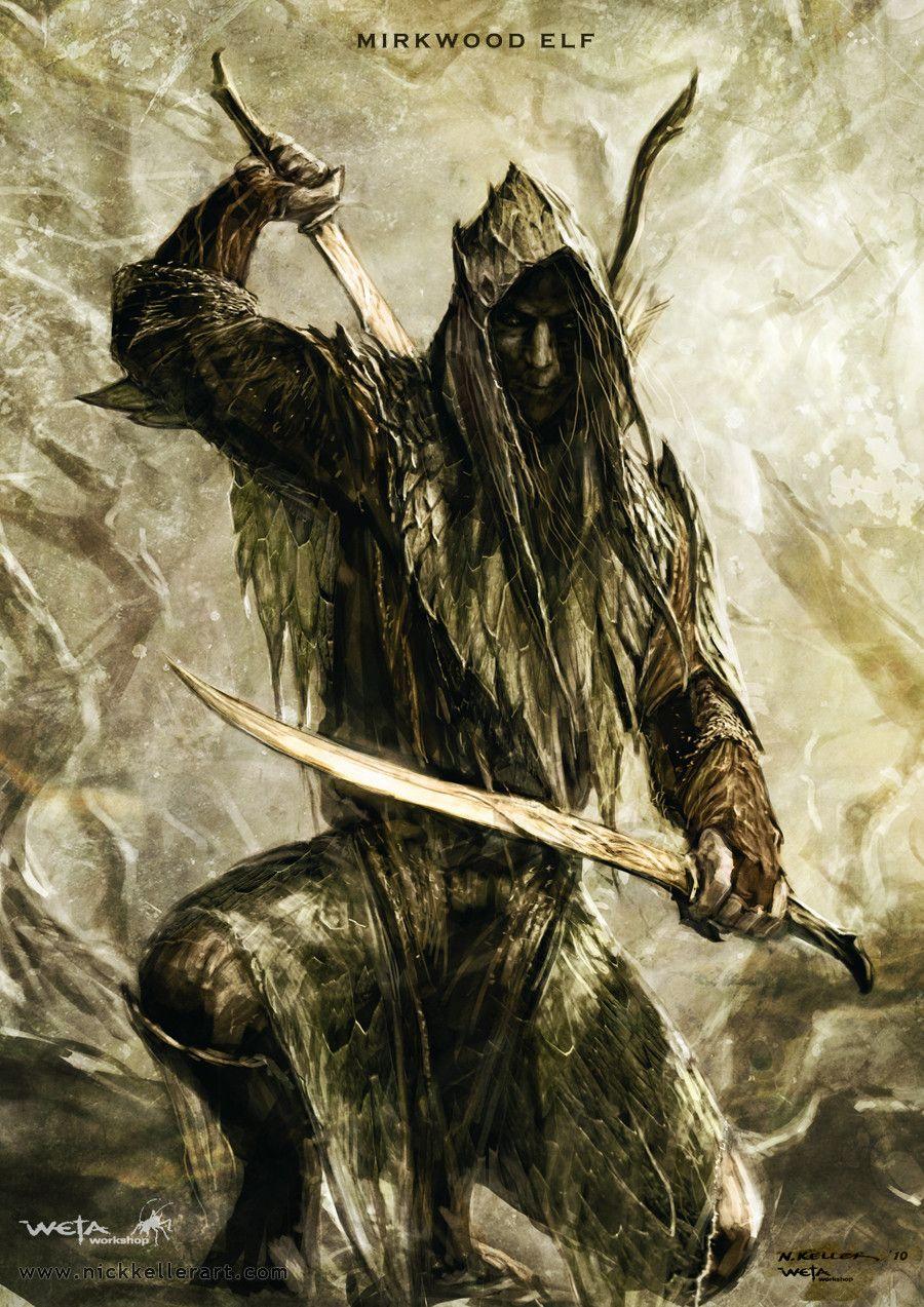 Os elfos da Floresta da Lua sempre foram criatura reclusas e enigmáticas, mas nunca ofereceram qualquer risco a vila de Borda do Inverno. Até o início das nevascas de 1373...  Agora os elfos são um perigo constante para àqueles que adentram seus domínios sob a escuridão da floresta.