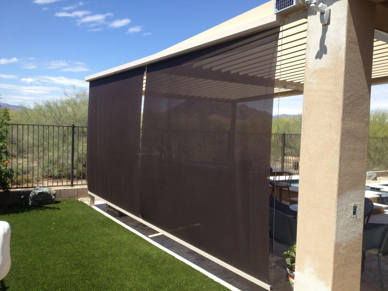 Retractable Patio Drop Screens Patio House Styles Retractable