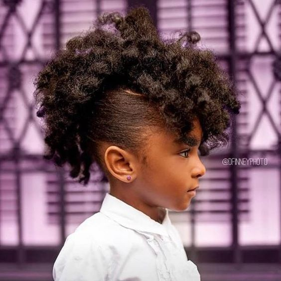 Back To School Hairstyles Black Hair Natural Hair Hairstyles For Kids School Kids Curly Hair Styl Kids Hairstyles Natural Hair Styles Curly Girl Hairstyles