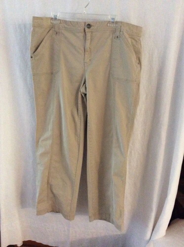 1a54c9fdd2d White Stag Khakis Size 18 Average  fashion  clothing  shoes  accessories   womensclothing  pants (ebay link)