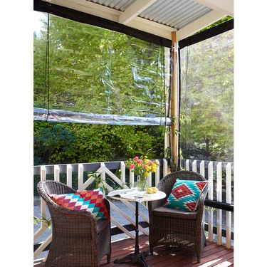 0 7 Mm Patio Blind Clear 90 X 240 Cm