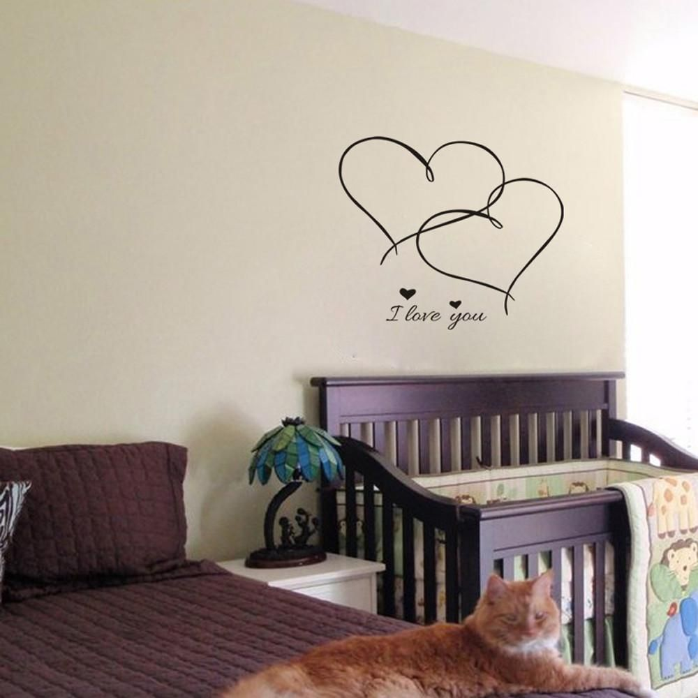 removable vinyl decal art mural valentine s home living on wall stickers for living room id=72387