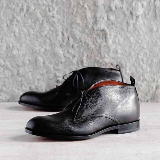 a7a06c70445 Luxurious deerskin chukka boots by Maestro Antonio Maurizi. A few ...