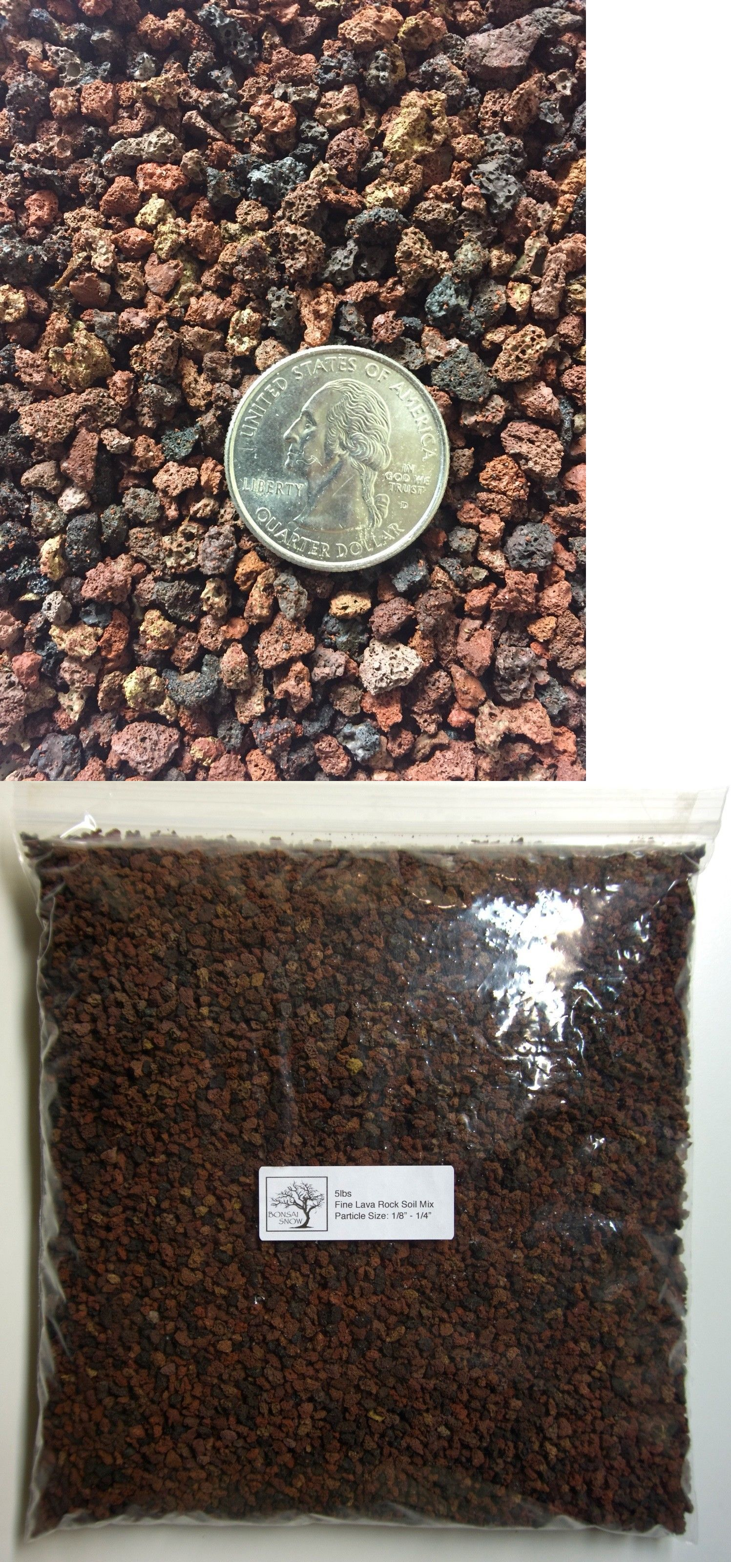 5 Lbs 1 8 1 4 Horticultural Lava Rock For Cactus And Bonsai Tree Soil Bonsai Tree Bonsai Soil Bonsai