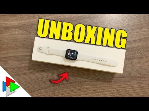 UNBOXING APPLE WATCH SERIES 4 E PROBLEMINHA NA APPLE STORE