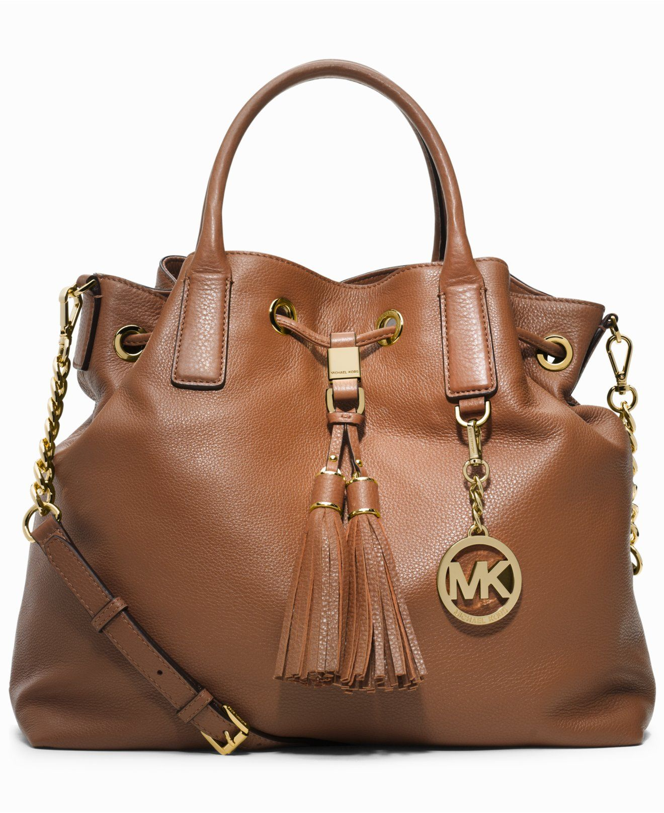bed409022ff4 MICHAEL Michael Kors Camden Large Drawstring Satchel - Handbags Accessories  - Macys ...