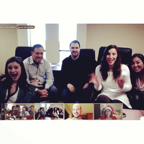 Staff meetings, pizza party, new South Florida office...what more could we ask for?