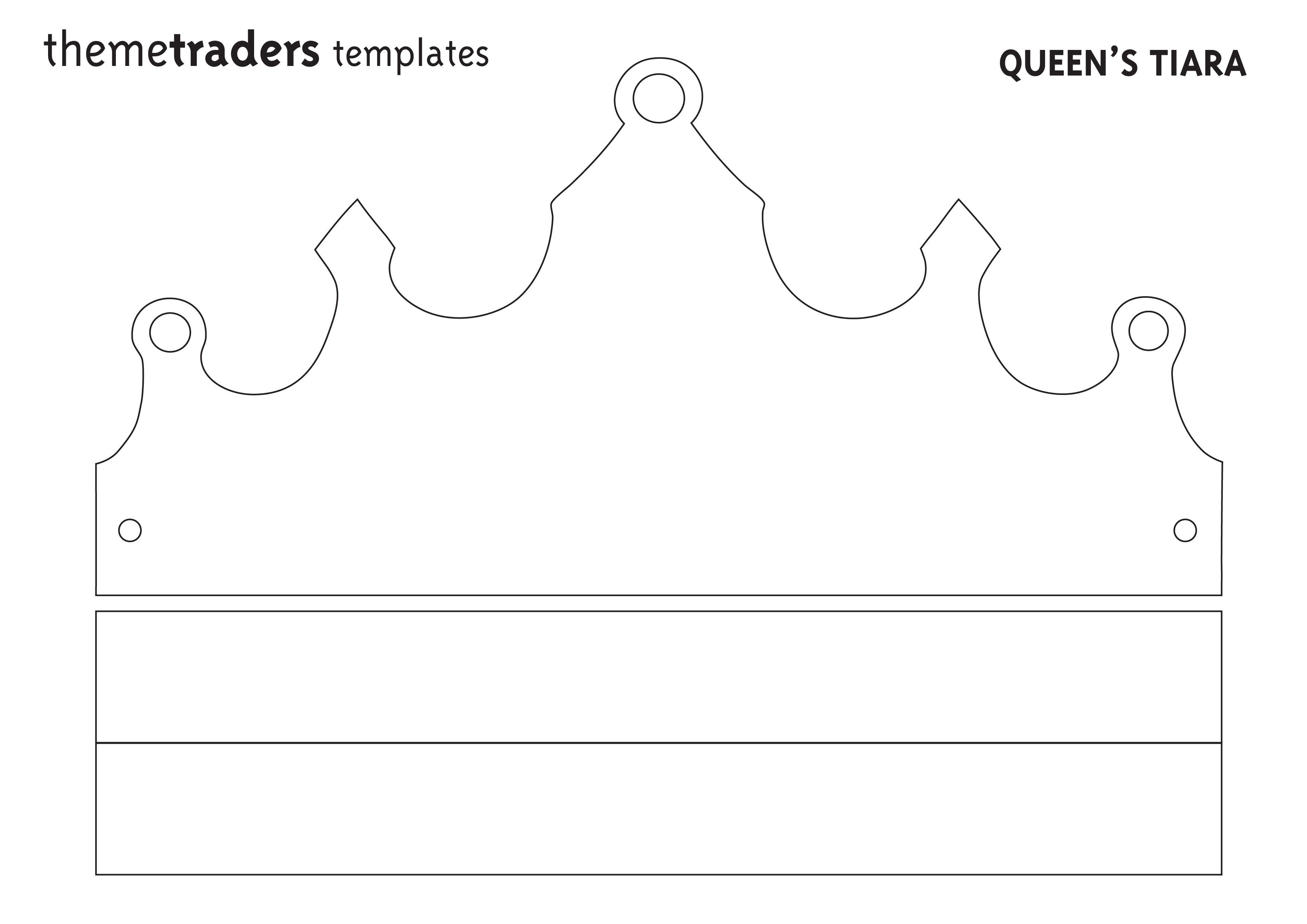 Queens Tiara Template From Themetraders