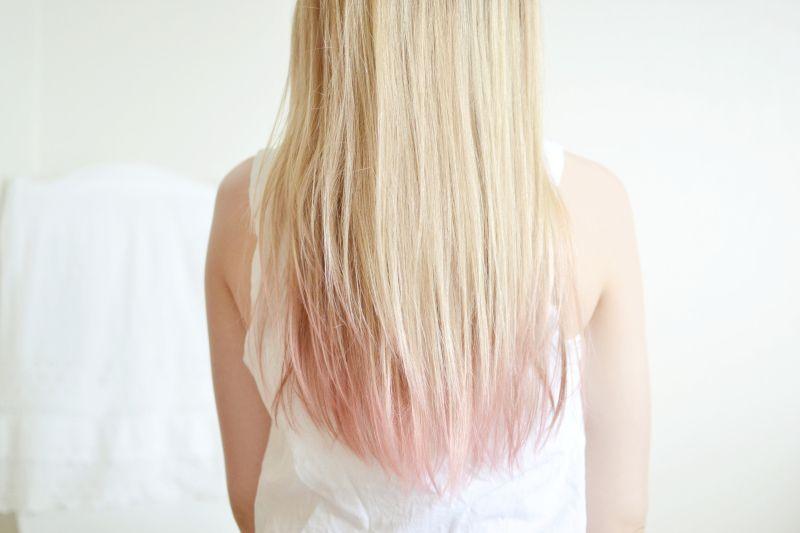 Bloggen Er Fjernet Dip Dye Hair Har Og Blondiner