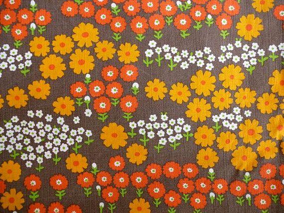 Skandinavische Vintage Tapeten : Retro Scandinavian Fabric
