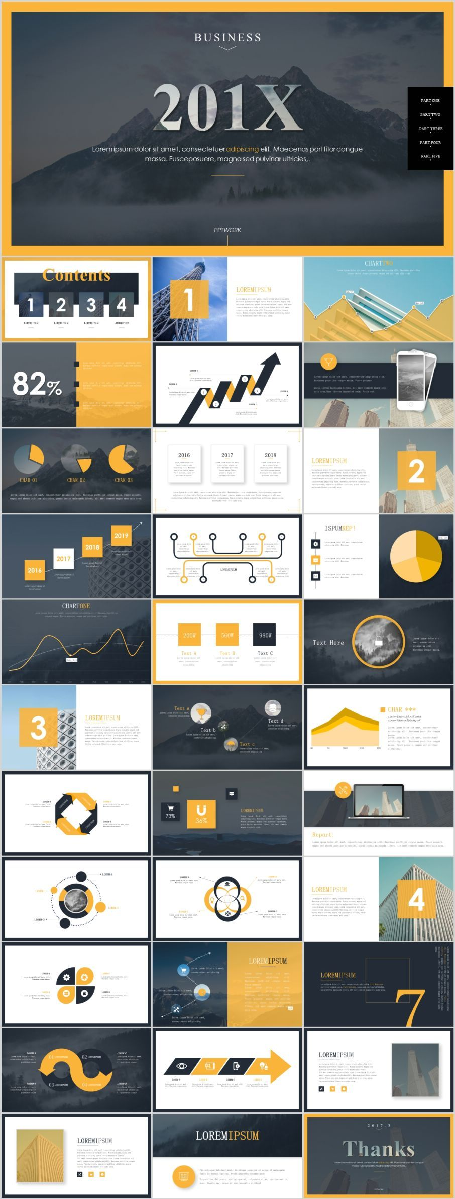 34 Best Magazine business style PowerPoint templatesThe highest quality PowerPoint Templates and Keynote Templates download