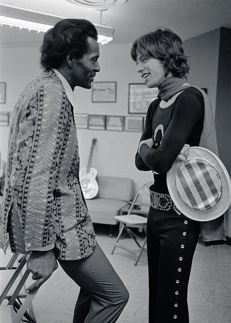 Chuck Berry Talking With Mick Jagger 69 Quote If You Tried To