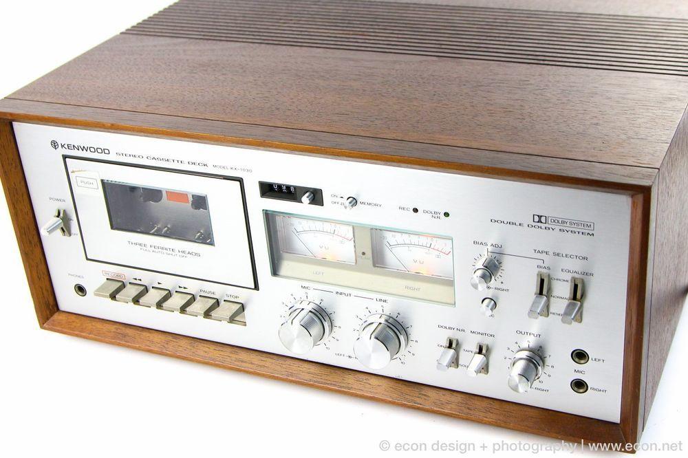 Tandberg 3004 Vintage Cassette Deck Near Mint Condition