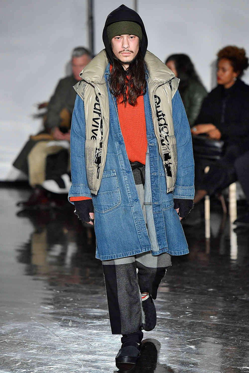 This Tasteless Nyfw M Collection Used Homeless People As Inspiration Fashion New York Fashion Week Men Menswear
