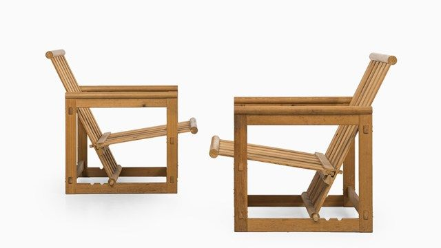 Edvin Helseth easy chairs