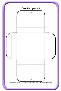 Free Gift Box Templates for You to Download