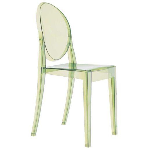 Sedia Victoria Ghost di Philippe Starck per Kartell | Sedie | Chairs ...