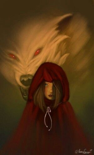 Awaits Chapeuzinho Vermelho Capuchinho Vermelho E A Garota Da