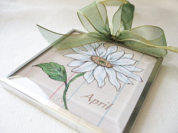 Check out this item in my Etsy shop https://www.etsy.com/listing/194408231/birth-month-april-flower-daisy-beveled