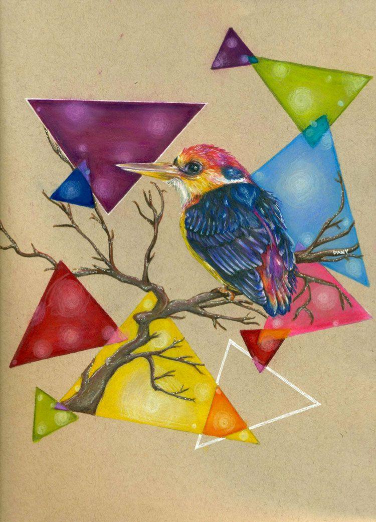 Les dessins tout en couleur de Dany Lizeth | Dessin, Dessin couleur et Photo d art