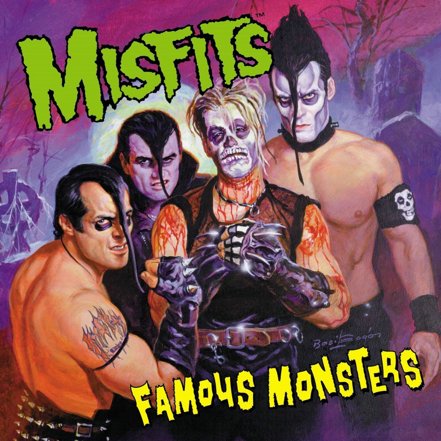 Misfits – Famous Monsters (LP of the Week) | Horror and Music covers