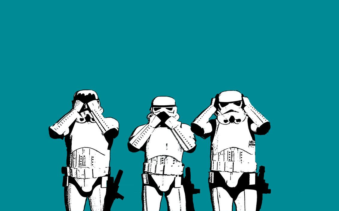 Storm Troopers See No Evil By Iamthedarthvader Star Wars