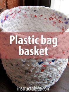 Photo of Machen Sie einen Korb aus Plastiktüten – UPCYCLING IDEEN