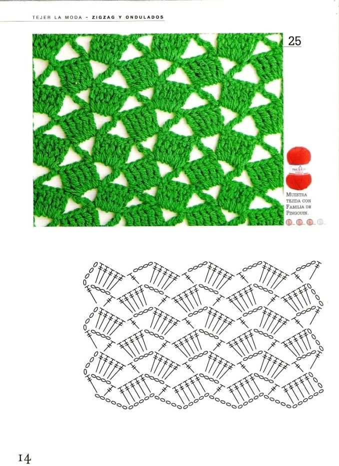 crochet #pattern #patron #stitch | crochet | Pinterest | Ganchillo ...