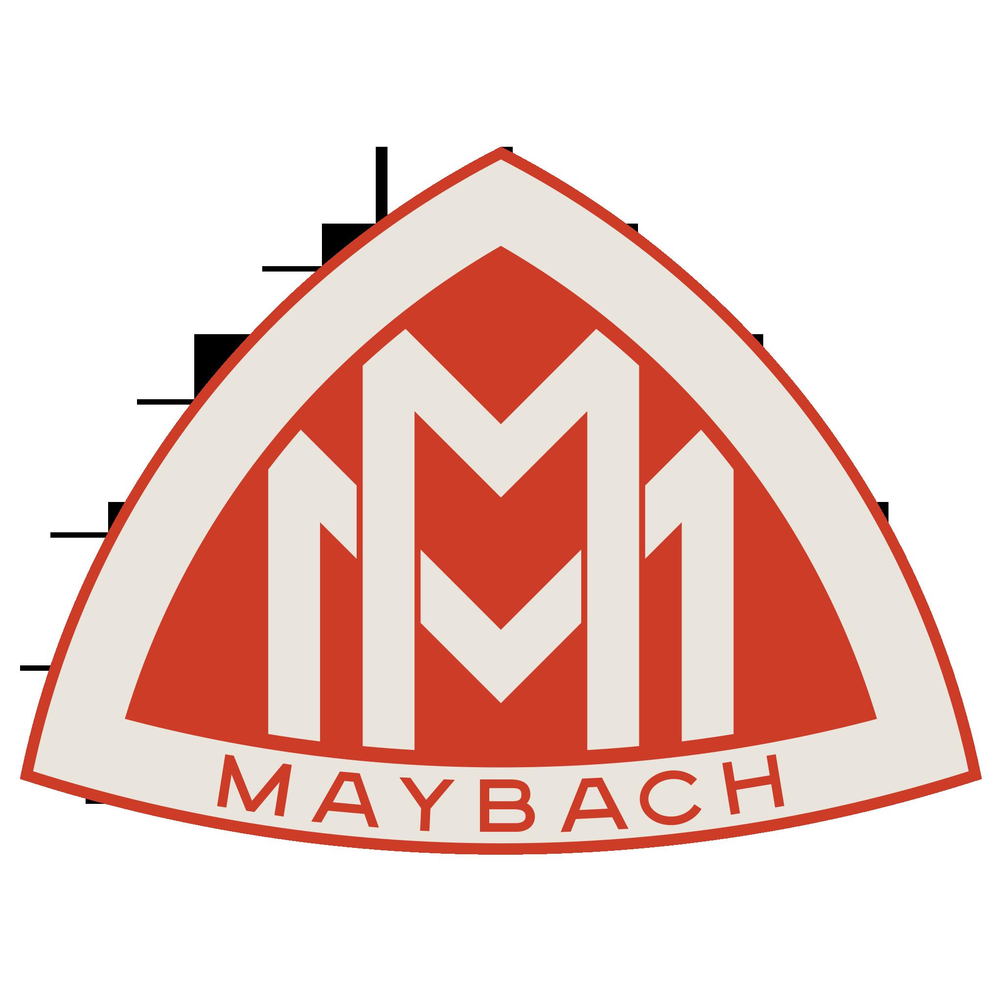 Maybach Logo (Red) 2048x2048 HD png Maybach