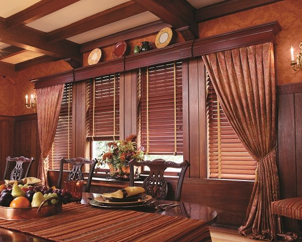 Draperies Provided By Zblinds Company Fresno Ca Wood