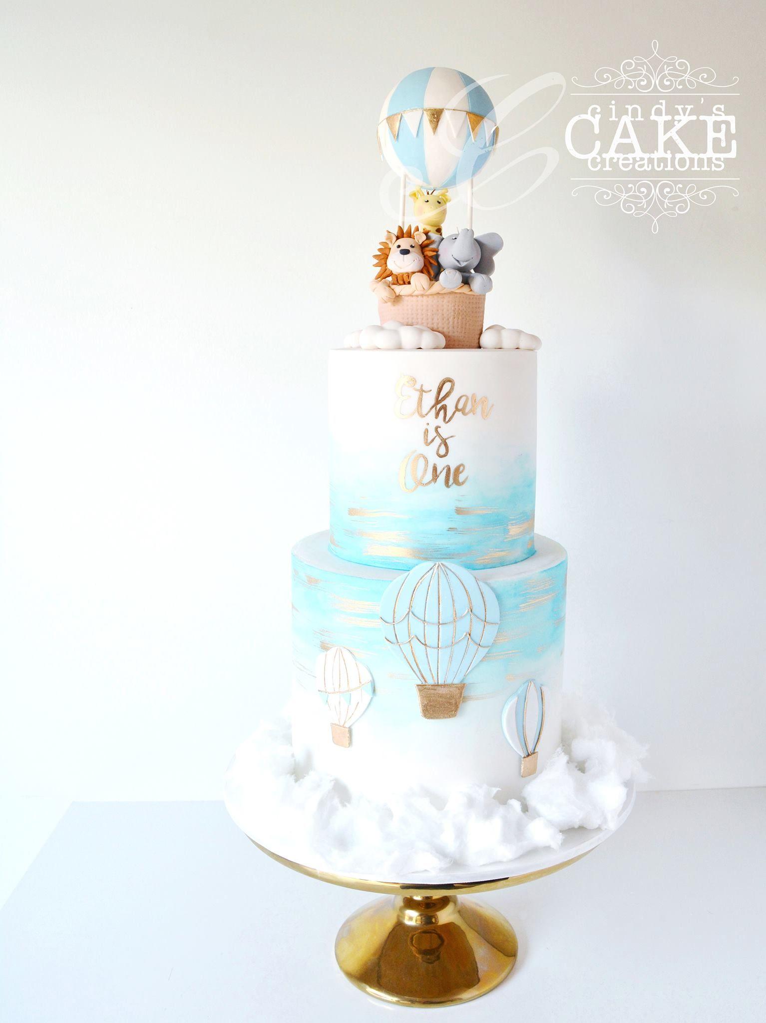Cindy's Cake Creations | Boys 1st birthday cake, Baby ...