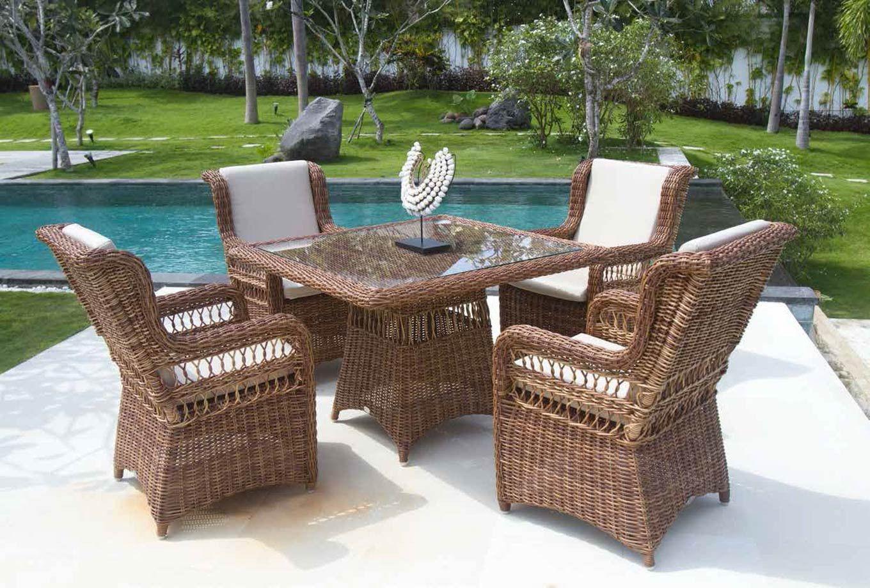 Mesa de comedor para jardín Ebony | Muebles de terraza y jardín de ...
