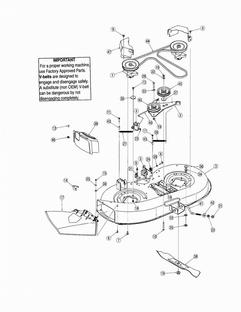 Wiring Diagram For Troy Bilt Riding Mower from i.pinimg.com
