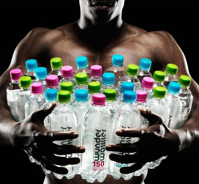 Wunderwasser by Wunderwerk ©   #Water #Aid #Design #Packaging #Charity - www.wunderwerk.nu