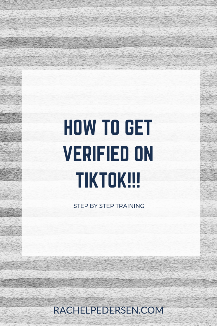 How To Get Verified On Tiktok How To Get Marketing Strategy Social Security Card