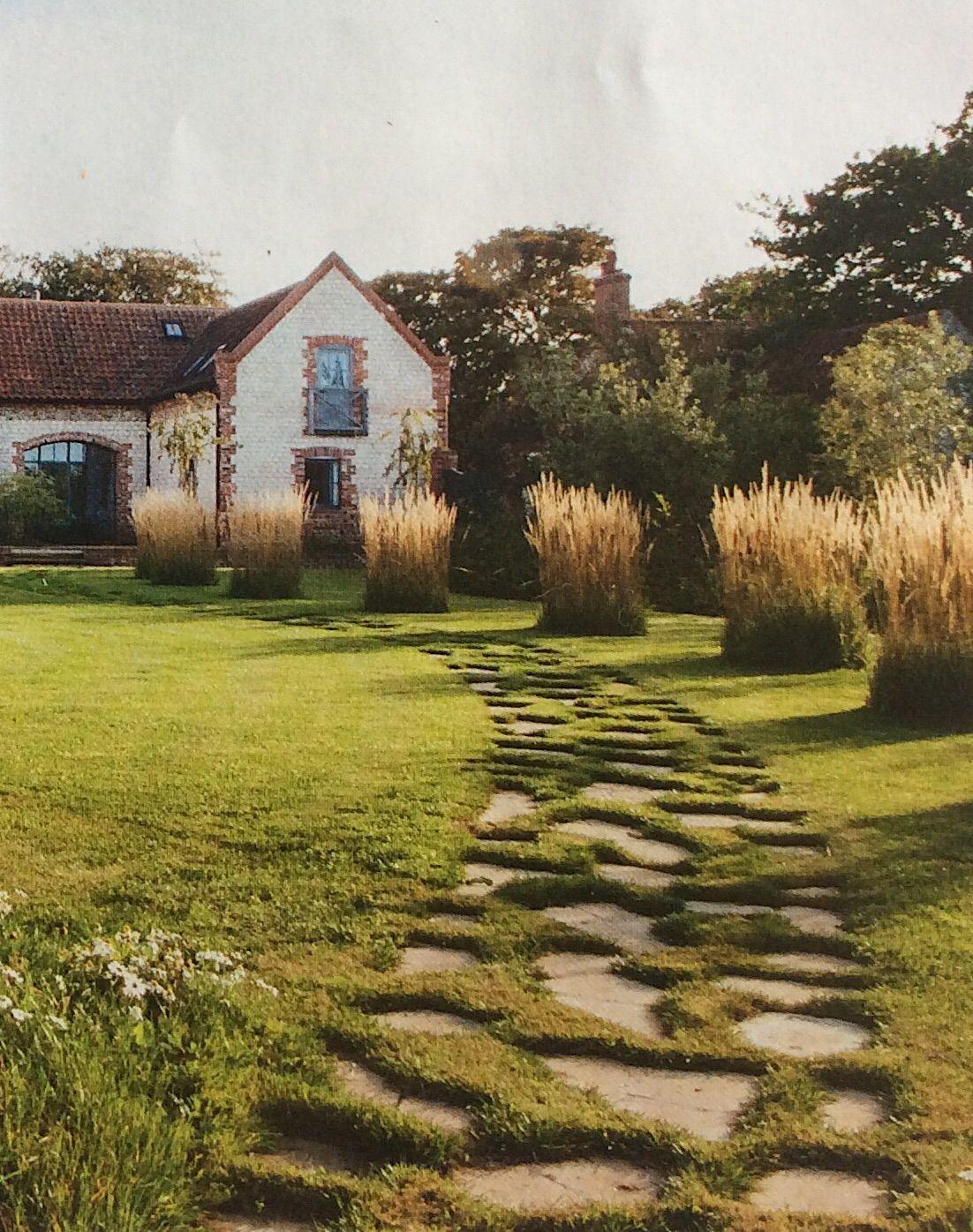 stone path - crazy paving updated | garden designer Clare Agnew\'s ...