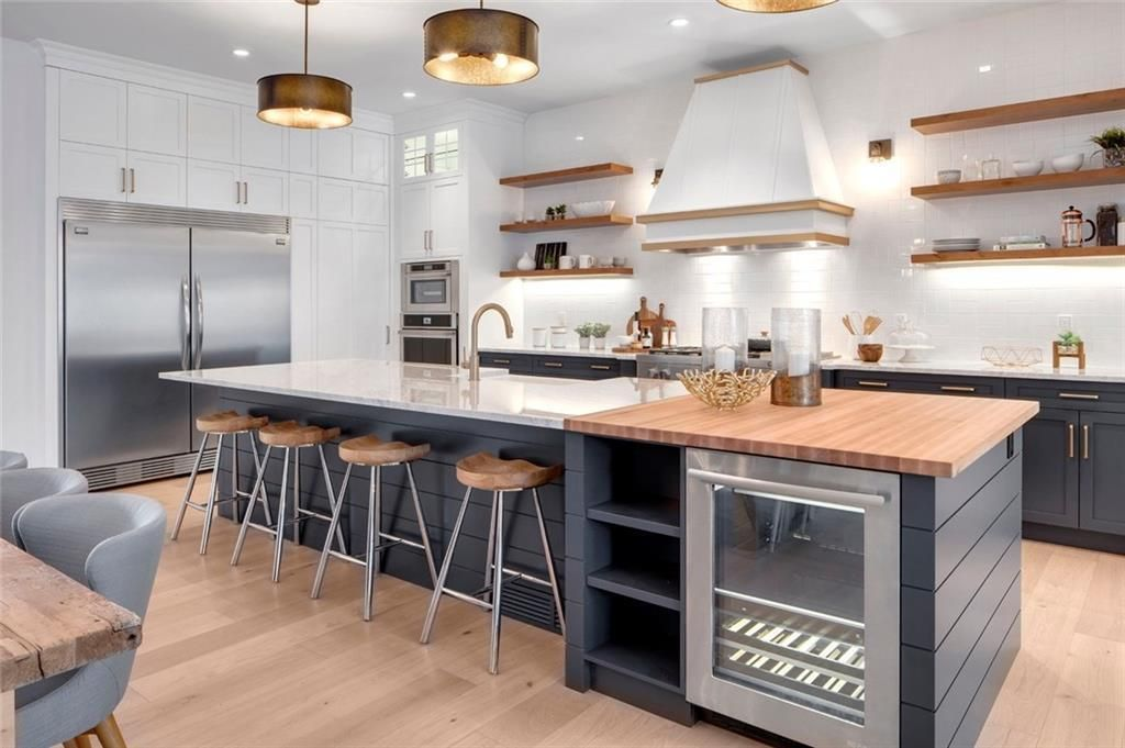 The Modern Farmhouse Kitchen of My Dreams Building a House