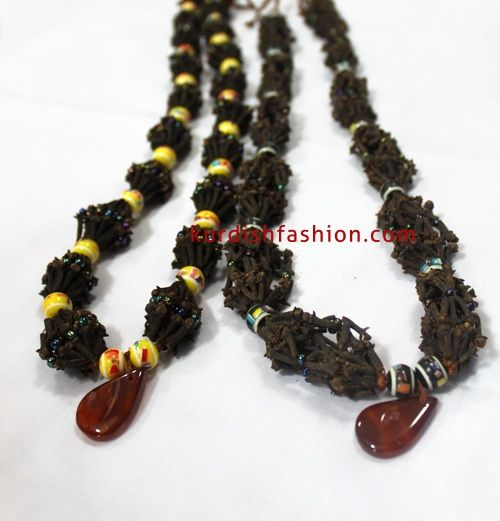 traditional u0026 handmade necklace with cloves u0026 beads kurdish culture